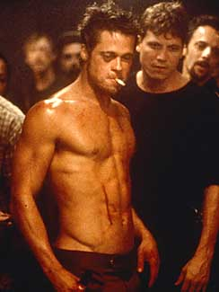 How Much Does Brad Pitt Weigh In Fightclub Shirtless Mwgmedia